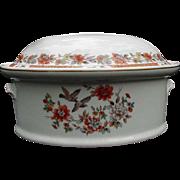 SALE Mottahedeh Vista Alegre Porcelain Casserole, Portugal
