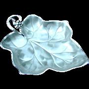 WMF Ikora Silverplated Leaf Dish
