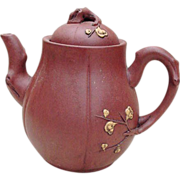 SALE Chinese Red Ware Teapot