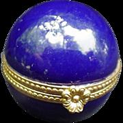 SALE PENDING Tiffany & Co. Limoges Box, Cobalt