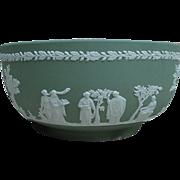 SALE Green Wedgwood Jasperware Bowl, England