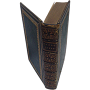 Thomas Hood, Leather Bound Edition of Poems,  1861