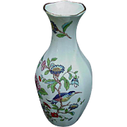 Aynsley Fine English Bone China Vase, Pembroke Pattern