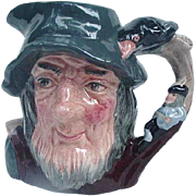 Rip Van Winkle Character Pitcher, Royal Doulton