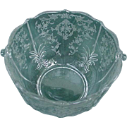 Fostoria Navarre Ice Bucket, Etched Elegant Glass