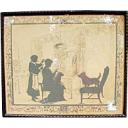 SALE Silhouette by Eveline v. Maydell of Annie Burr Jennings, 1924