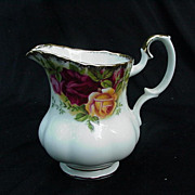 Royal Albert Old Country Roses Cream Pitcher, English Bone China