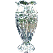 Waterford Vase, Clear Crystal