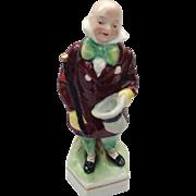 Erphila Figurine, Charles Dickens Character, Mr. Micawber