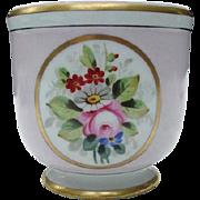 Vista Alegre Jardiniere, Pink with Floral Reserve