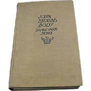 3rd Edition, 1930, Stephen Vincent Benet, John Brown's Body, Doubleday Doran