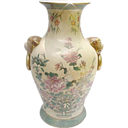 Beautiful Hand-Painted Satsuma Vase
