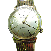 Vintage 10 Kt. GF Hamilton Electric Watch with 10 kt. GF Expandable Band