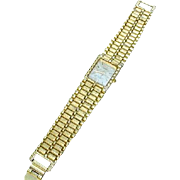 Seiko, Water Resistant Quartz Watch with Roman & Stick Marks on the Dial