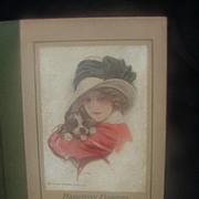 SALE Harrison Fisher Book, American Girls in Miniature, 1912