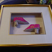 REDUCED Pair of Lotus Shoes for Chinese Woman w Bound Feet