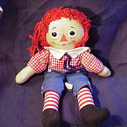 Raggedy Andy Rag Doll by Knickerbocker