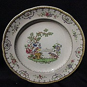 Copeland Late Spode Chelsea Pattern Luncheon Plate, Birds
