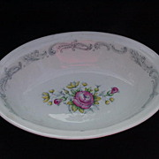 Chantilly Rose Oval, Open Vegetable Bowl, Royal Doulton
