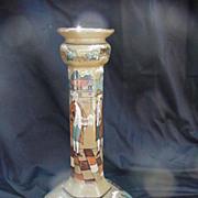 SALE Buffalo Pottery Deldare Ware Candlestick