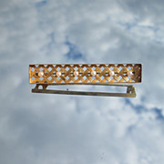 14kt Rectangular Multi Seed Pearl Brooch