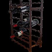A French Metal Wine Rack by Rigidex