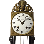 19th C.  Comtoise Wall Clock