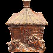 Humidor Box Casket Fox Hunting Black Forest Cigar