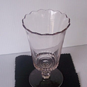 SALE Fabulous Vintage Glass Spooner Mint Condition!