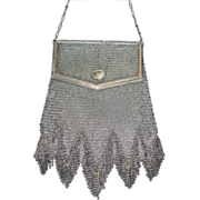 TO BE REMOVED 7-31 Vintage Whiting and Davis Mesh Princess Mary Purse
