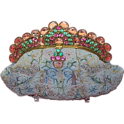 SOLD Spectacular Jeweled Beaded Embroidered Josef Purse