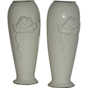 "Pair, Lenox, 7 1/2"" Bud Vases"