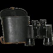 1945, Ofuna, Occupied Japan Binoculars w/Leather Case