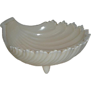 "Westmoreland, 6"", Ivory, Footed Shell Dish"