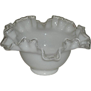 "Fenton, 7"" Silvercrest Bowl"