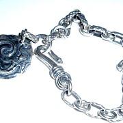 Sterling Silver Mermaid  - Bracelet