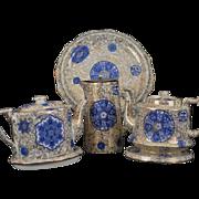 SALE Osaka Pattern by James Kent Ltd. Fenton China Tea Pot, Coffee Pot, Tall Pitcher ...