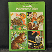 """Favorite Pillowtime Tales"" Children's Book by Rand McNally 1978"