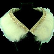 SALE Vintage Genuine Fur Stole for Madame Alexander Cissy Doll Miss Revlon Dollikins