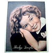 Vintage 1936 Shirley Temple Movie Theater Lobby Card Photo Poor Little Rich Girl
