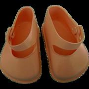 Vintage Original Terri Lee Pink Doll Shoes also fit Ideal Toni P93