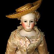 SALE Great Straw French Fashion Doll Hat