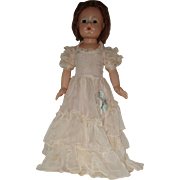 """REDUCED Vintage 21"""" Composition Effanbee Ann Shirley Doll 1938-1948"""