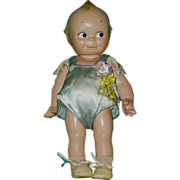 """SALE 1940's Composition Cameo Rose O'Neill Kewpie Doll 12"""""""