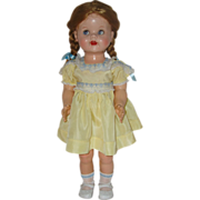 "SALE 22"" Ideal Saucy Walker Doll  Circa 1952"