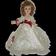 "14 1/2"" All Original American Character Sweet Sue Walking Doll Circa 1953"