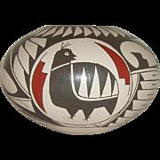 Vintage Mata Ortiz Pottery Bowl