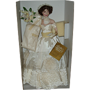 SOLD 1997 Franklin Heirloom Dolls Jacqueline Kennedy