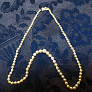 Mikimoto Pearls  in Sterling ~  circa 1970's