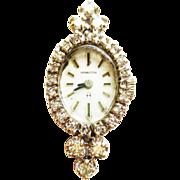 Diamond Watch by Hamilton ~ circa 1950s